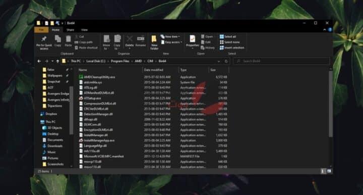 إصلاح عدم فتح مركز تحكم AMD Catalyst في نظام التشغيل Windows 10 2