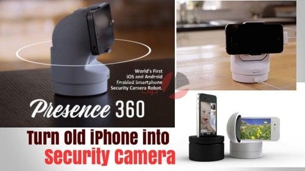 كيفية تحويل الهاتف إلى كاميرا مراقبة 1