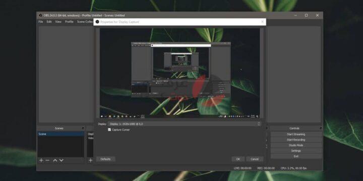 كيفية تسجيل الشاشة باستخدام OBS على نظام التشغيل ويندوز 10 3