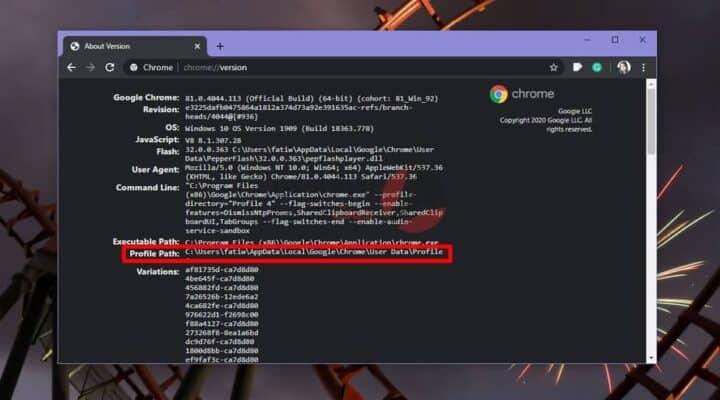 كيفية عرض ذاكرة التخزين المؤقت لـ Chrome على نظام التشغيل Windows 10 2