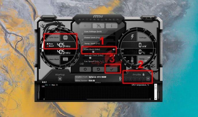 كيفية عمل Underclock و Undervolt ل GPU (دليل سريع) 2