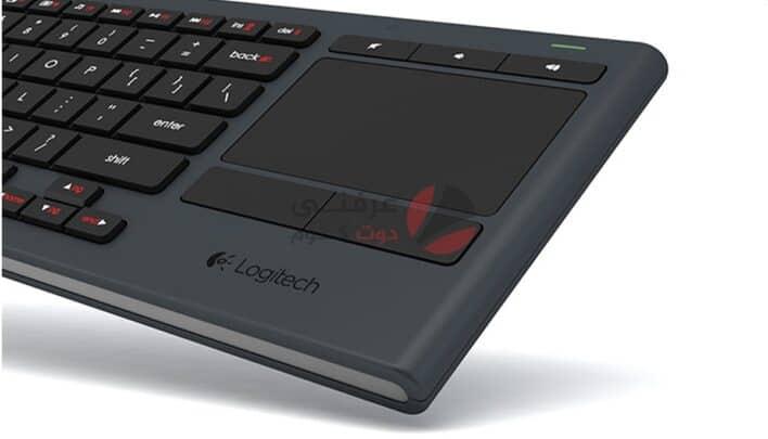 حل مشكلة لوحة اللمس اللاسلكية للوحة المفاتيح لا تعمل لـ Logitech 1