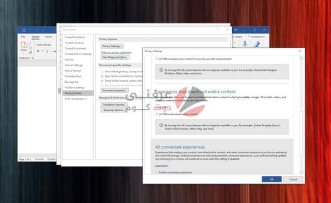 قوالب Microsoft Office: حل مشكلة Something went wrong while downloading your template 6