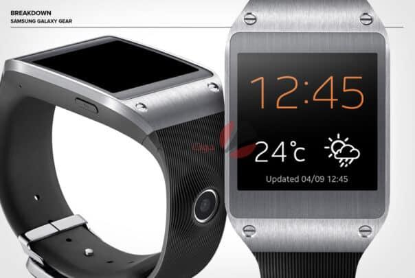 Galaxy Gear أول ساعة ذكية من سامسونج بها كاميرا 3