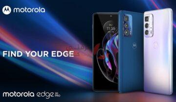 سعر ومواصفات ومميزات وعيوب Motorola Edge 20 Pro رسميًا