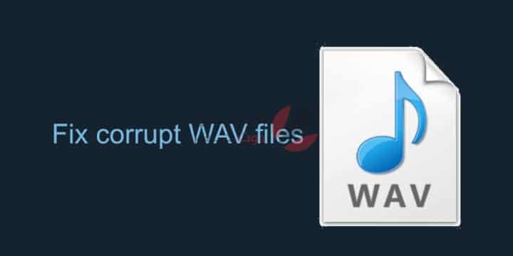 """حل مشكلة ملفات WAV التالفة """" corrupt WAV files """" 1"""