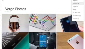 ألبوم صور Google