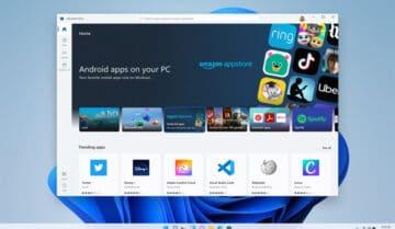 Windows 11 : يظهر نظام ويندوز الفرعي لنظام Android في متجر مايكروسوفت