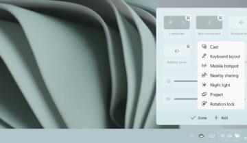 Windows 11 : كيفية فتح Action center مركز الإجراءات وتخصيصه