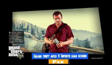 حل مشكلة GTA Online توقف اللعبة في شاشة التحميل