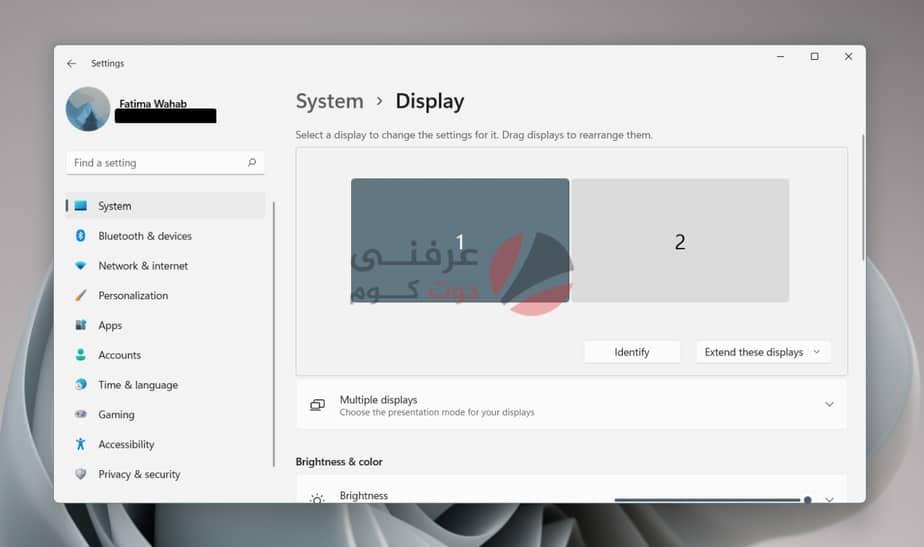 كيفية توصيل أجهزة عرض متعددة على Windows 11 1
