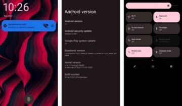 ذاكرة الـ ROM التي تعمل بنظام Android 12 جاهزة للتثبيت