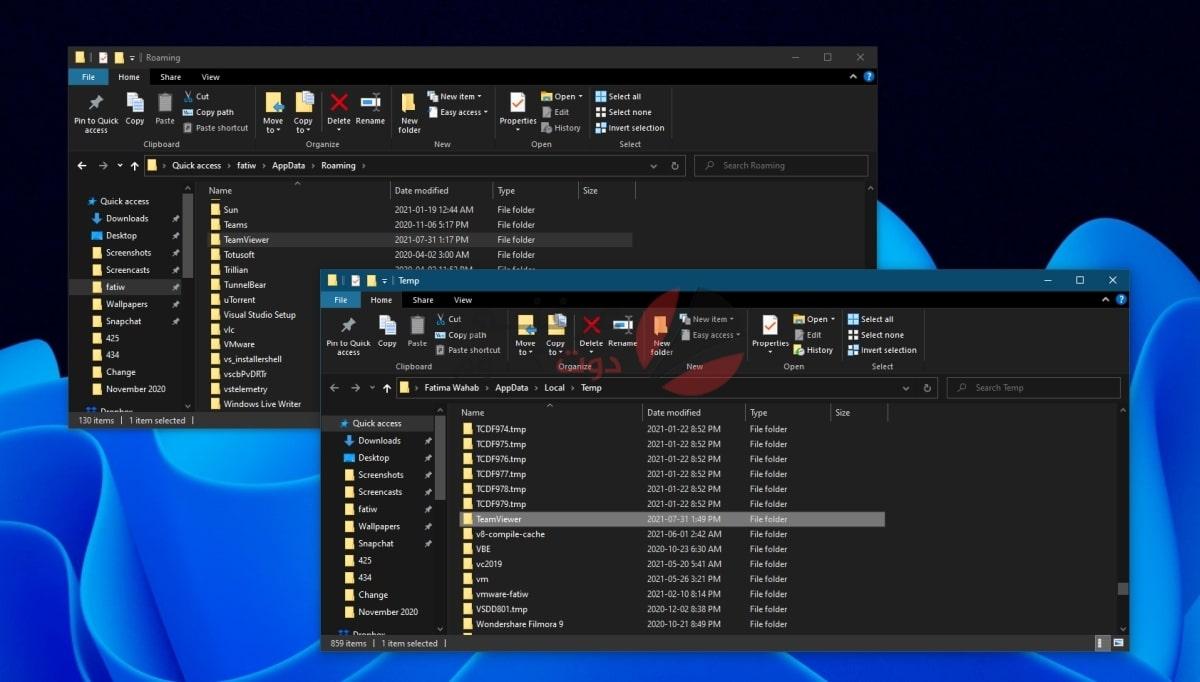 حل مشكلة TeamViewer commercial use detected لبرنامج TeamViewer 2